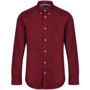 Tommy Hilfiger long-sleeve Burgundy
