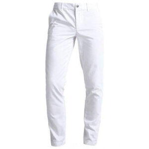 Lacoste white chinos trouser
