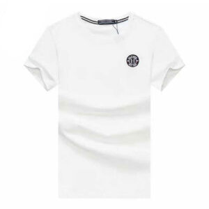 tommy white badge t-shirt