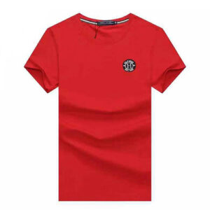 tommy red badge t-shirt