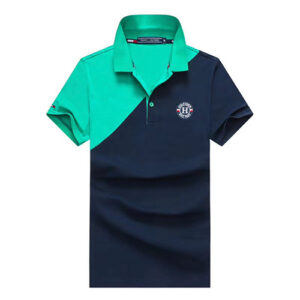 tommy navy blue green