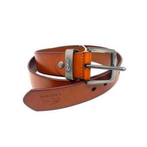 lacoste Brown Leather Belt
