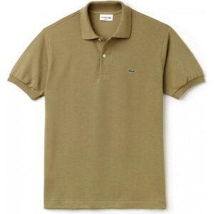 lacoste Piqué polo brown