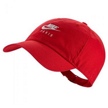 nike red baseball cap