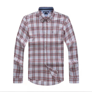 Tommy Hilfiger brown Plaid