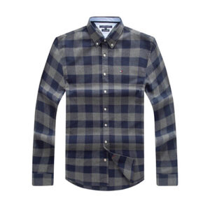 Tommy grey checkered shirt