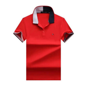 tommy flag neck red