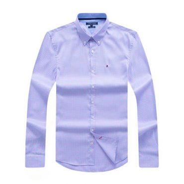 Tommy Blue Plaid shirt