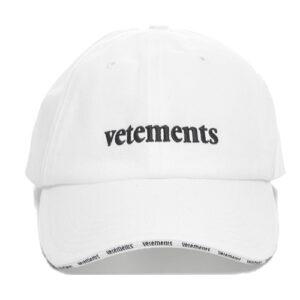 vetements reebok cap white