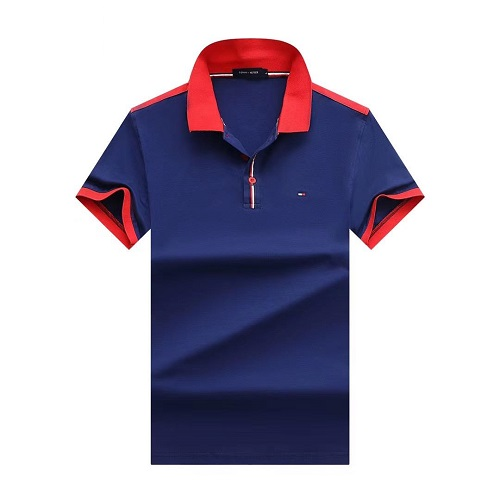 tommy casual navy polo