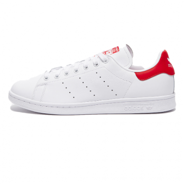 adidas stan smith white/red