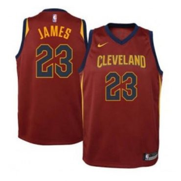 Cavaliers Basketball Jersey burgundy