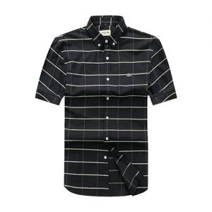 Lacoste black Checkered short