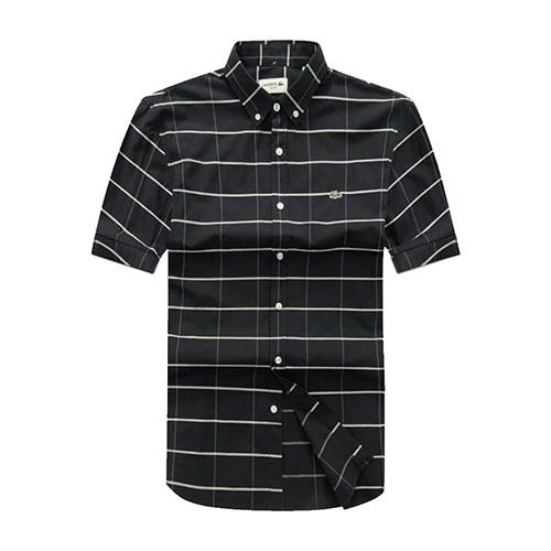 Lacoste black Checkered short