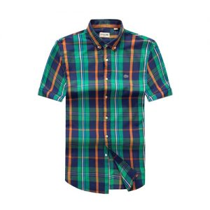 Lacoste Green Checkered short