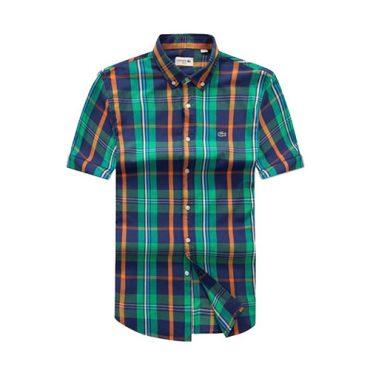 Lacoste Green Checkered short