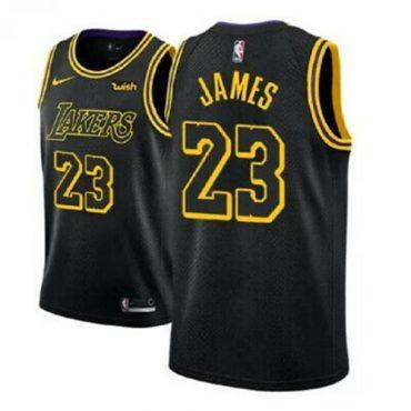 lakers Basketball Jersey black