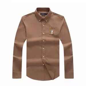 polo bear shirt brown