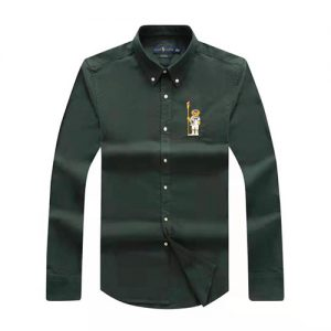 polo bear shirt green
