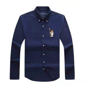 polo bear shirt navy