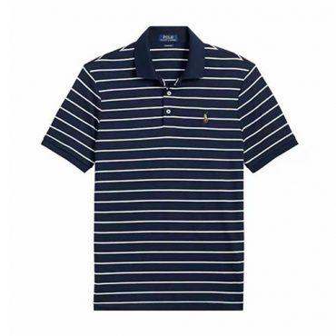 ralph lauren striped Navy/White
