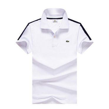 lacoste white polo men's