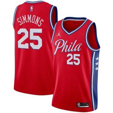 simmons philadelphia basketball jersey