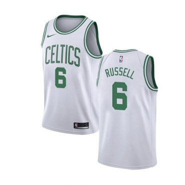 Celtics Russell Jersey white