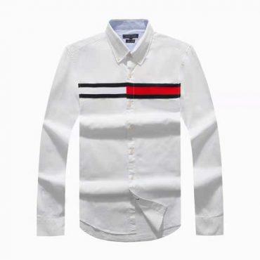 Tommy white flag shirt