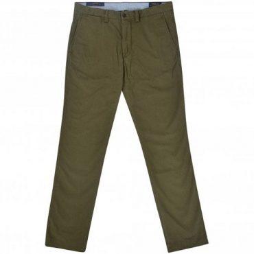 Lacoste dark-green chino trouser